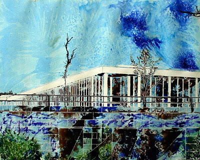 Underpass Art Print by Cathy S R Read