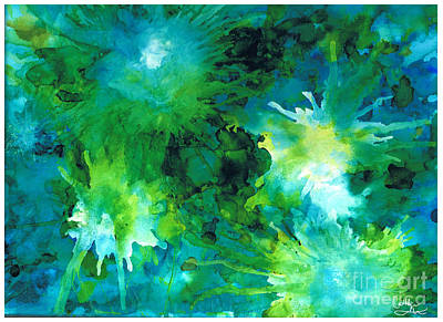 Painting - Undersea Dance by Cathlyn Driscoll