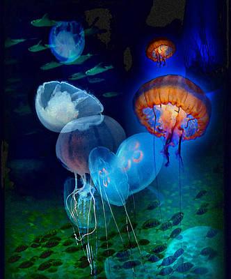 Undersea Fantasy Art Print by Linda Olsen