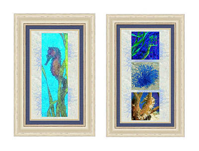 Photograph - Undersea Matched Pair Example by Susan Molnar