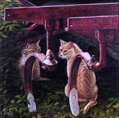 Painting - Understudy by Susan Sarabasha