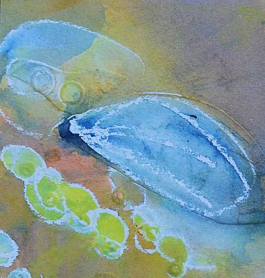Piscina Painting - Underwater 1 by Judy Bernier