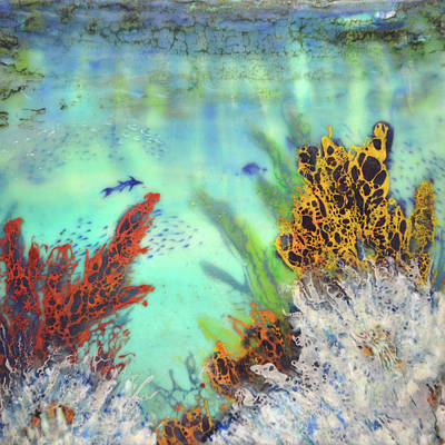 Painting - Underwater #2 by Jennifer Creech