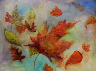Painting - Underwater Autumn by Betty-Anne McDonald