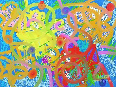 Digital Art - Underwater by Chani Demuijlder