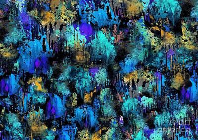 Evening Digital Art - Underwater  by Prar Kulasekara