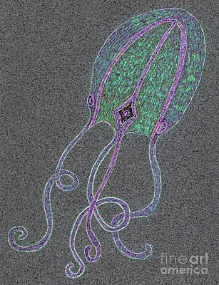 Underwater Creature Art Print