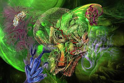 Haeckel Digital Art - Underwater Dream by Lisa Yount