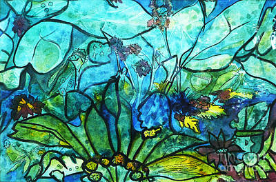 Painting - Underwater Fantasy by Marilyn Brooks