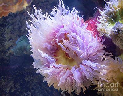 Photograph - Underwater Flower by Cheryl Del Toro