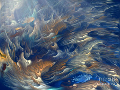 Digital Art - Underwater by Giada Rossi