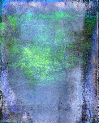 Layered Digital Painting - Underwater by Julie Niemela