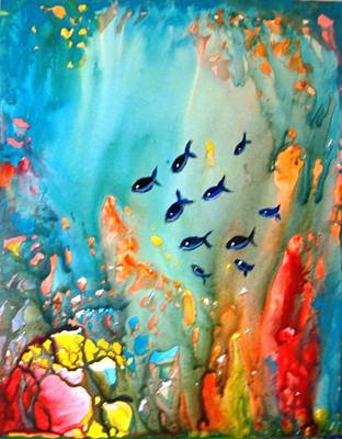 Underwater Magic Art Print