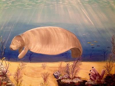 Underwater Paradise Art Print by Karen Pasquariello
