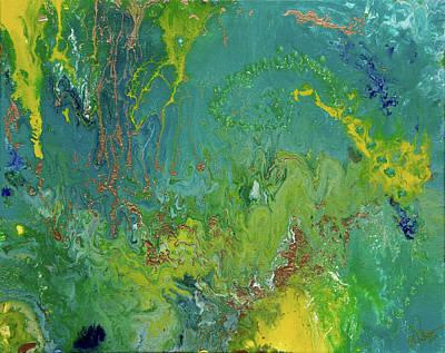 Mixed Media - Underwater Paradise by Vicki Pelham