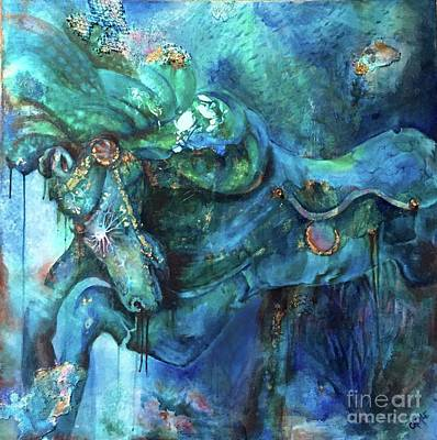 Underwater Whimsy Original by Briana Casale