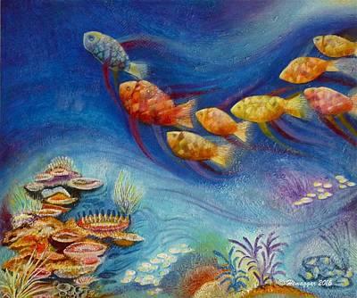 Painting - Oceanworld by Hemu Aggarwal