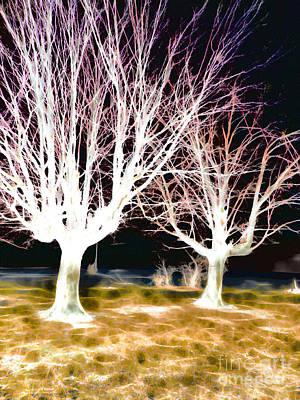 Vibrant Painting - Underworld Three by GabeZ Art