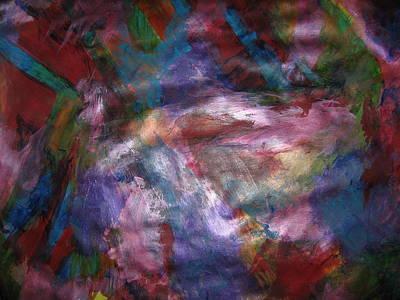 Oneself Painting - Undiminished Intensity by Paula Andrea Pyle