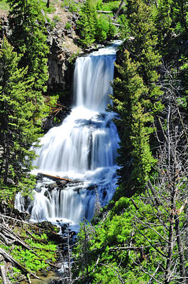 Photograph - Undine Falls by Greg Norrell
