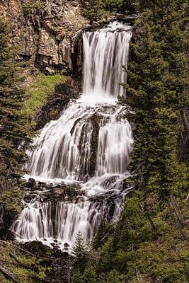 Photograph - Undine Falls by Josh Bryant