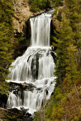 Photograph - Undine Falls by Lana Trussell