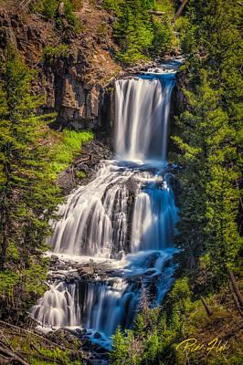Photograph - Undine Falls by Rikk Flohr