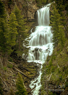 Photograph - Undine Falls by Robert Bales