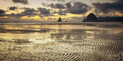 Photograph - Undulating Sands Meet The Sky by Don Schwartz