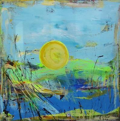 Painting - Une Journee Magnifique by Francine Ethier