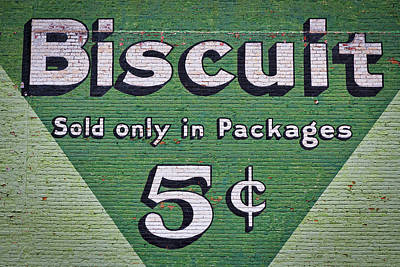 Photograph - Uneeda Biscuit Vintage Sign #2 by Stuart Litoff