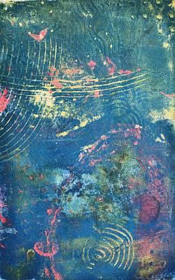 Mixed Media - Unexpected Doorway by Susan Richards