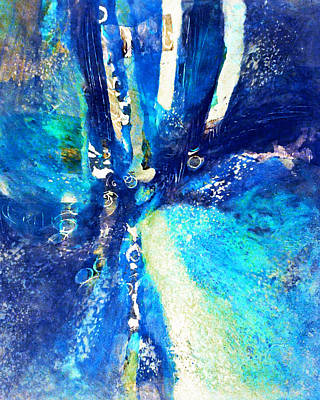 Painting - Unfathomable by Kate Word