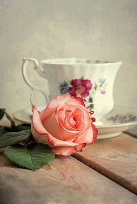 Photograph - Unfinished Tea by Jaroslaw Blaminsky