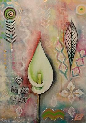 Painting - Unfolding by Alexandra Florschutz