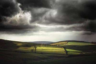 Peak District Photograph - Unfolding Drama by Chris Fletcher