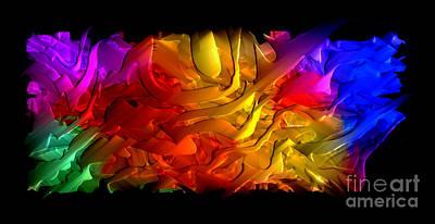 Digital Art - Unfolding Dream by Rafael Salazar