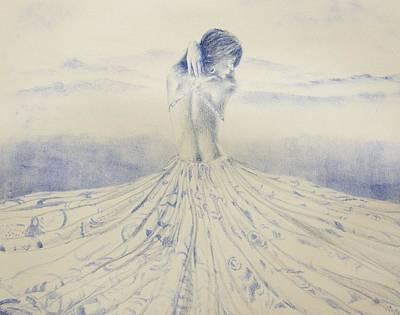 Unfolding The Twilight Art Print by Leonardo Pereznieto