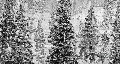 Photograph - Unforgettable Winter Abstract by Hazel Holland