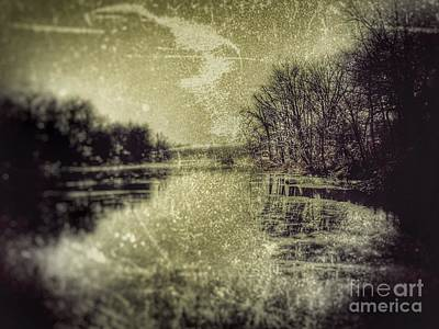 Unfrozen Lake Art Print