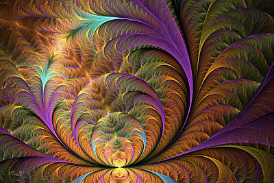 Digital Art - Unfurling by Kim Redd
