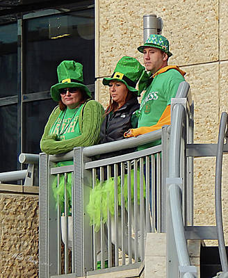 Photograph - Unhappy Leprechauns by Wild Thing