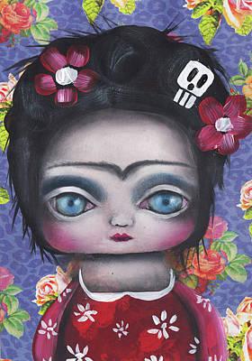 Painting - Unibrow by Abril Andrade Griffith