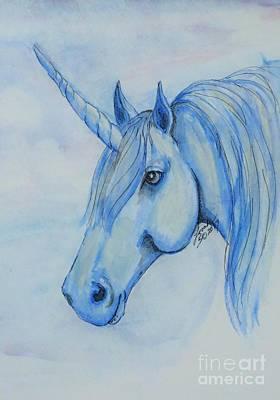 Painting - Unicorn 3 by Lorah Buchanan