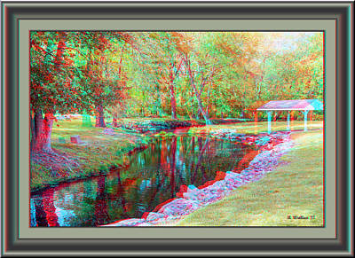 Photograph - Unicorn Stream - Use Red-cyan 3d Glasses by Brian Wallace