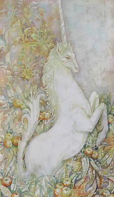 Unicorn Art Print by Tanya Ilyakhova