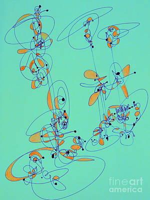 Digital Art - Unicycle Dreams by Nancy Kane Chapman