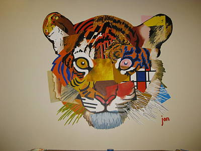Unity Painting - Unified Tiger by Jon Ellis