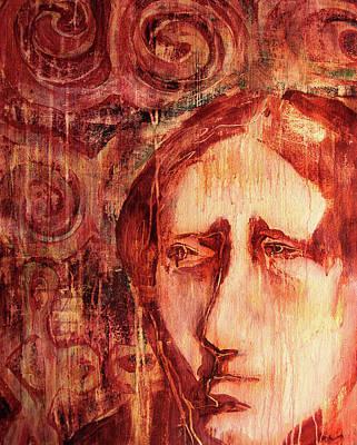 Painting - Unilisi Sankofa I by Cora Marshall
