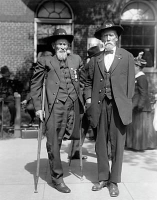 Photograph - Union Civil War Veterans by Daniel Hagerman